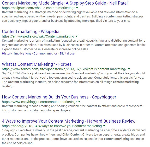 2018 04 20 18 55 22 content marketing Google Search