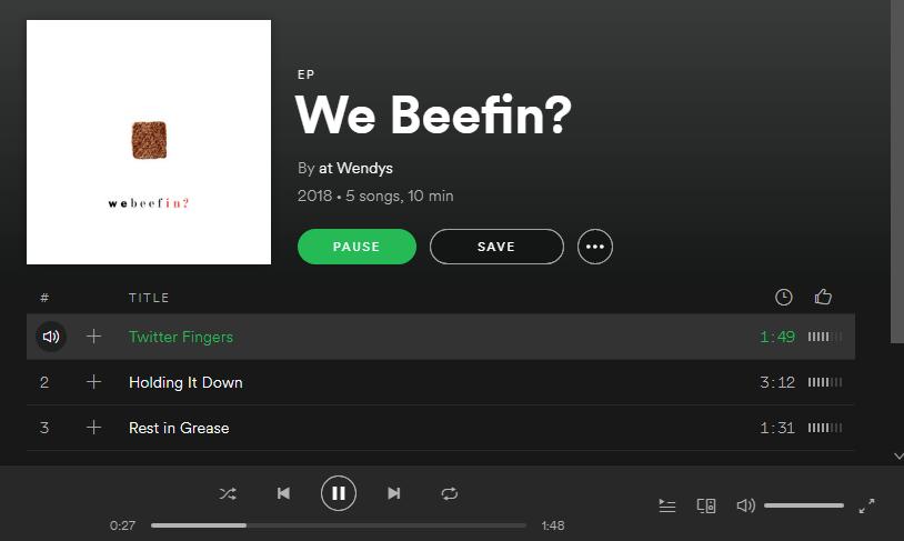 wendys mixtape