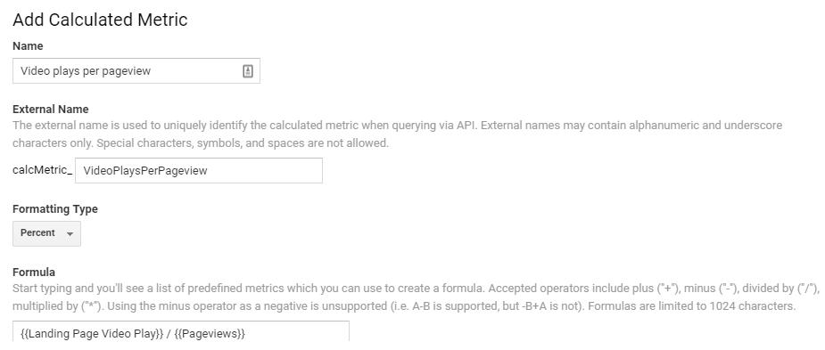 custom analyics 8