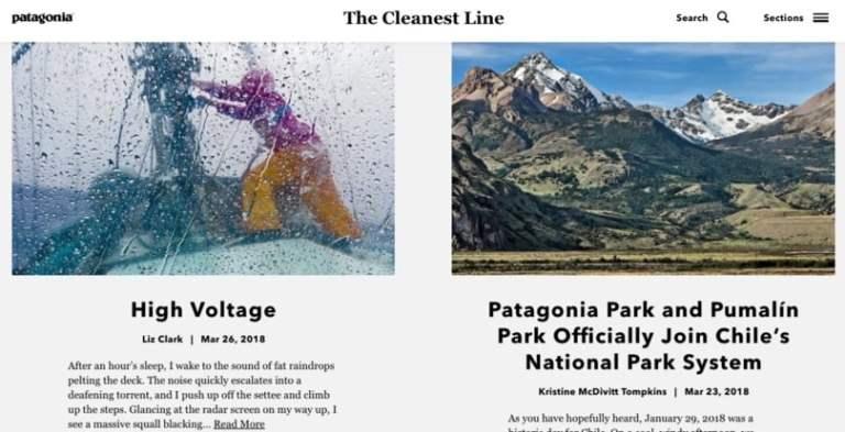 le blog de la ligne la plus propre de la patagonie