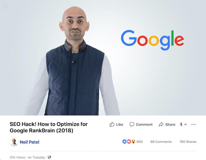 facebook rankbrain