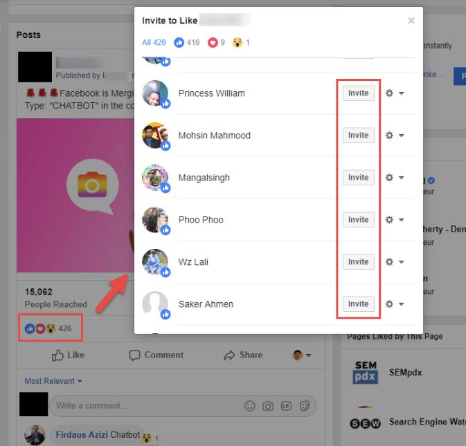 hidden facebook tools facebook fan ask