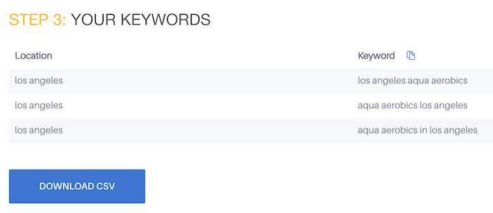 Bulk keyword generator free SEO tool