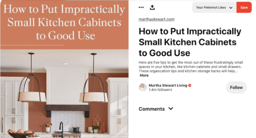 Martha Stewart living ecommerce example