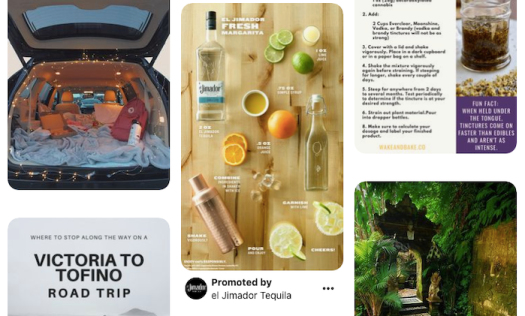 Promoted pins in Pinterest for e-commerce