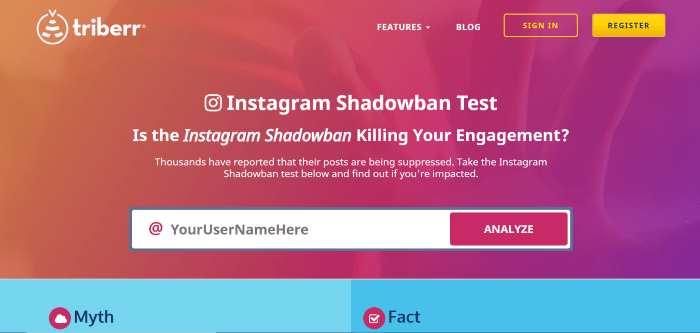 how to check if you are shadowbanned on Instagram