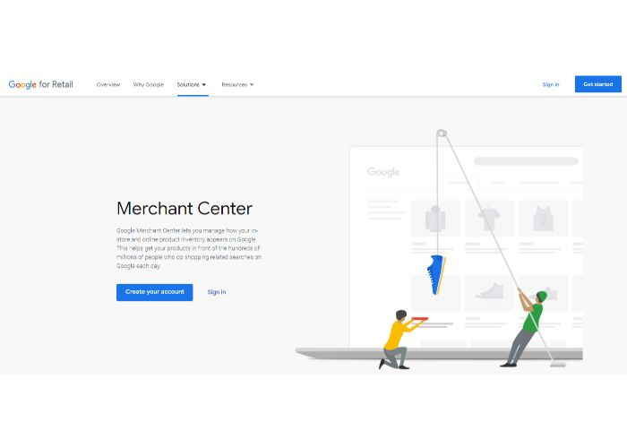 Google trusted stores merchant center