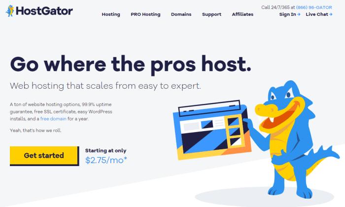 HostGator splash for Best Cheap Web Hosting