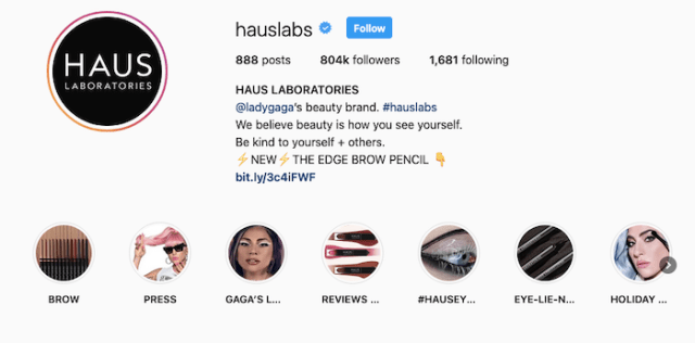 Best Instagram Bios for E-commerce Businesses - Haus Laboratories