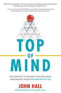 Best marketing books - top of mind