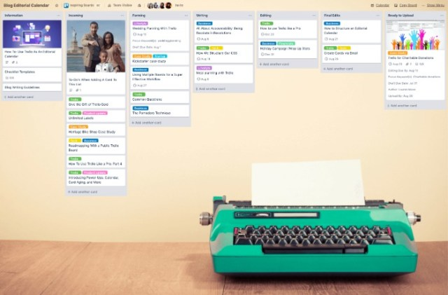 How to Create an Editorial Calendar - Move Articles Into Production