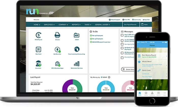 ADP Run interface for Best Payroll Services