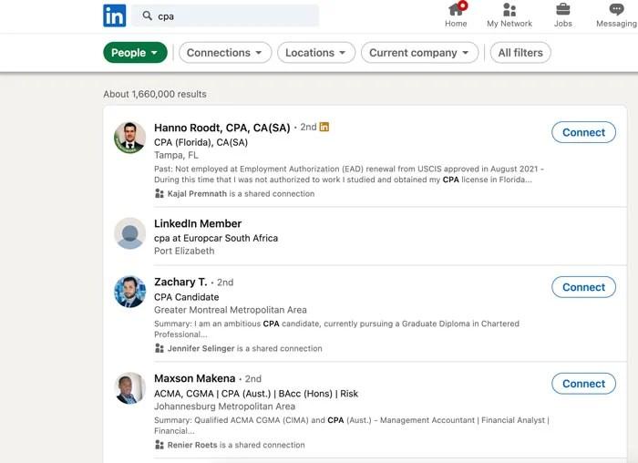 Marketing Tips for Accountants CPAs - Start Using LinkedIn