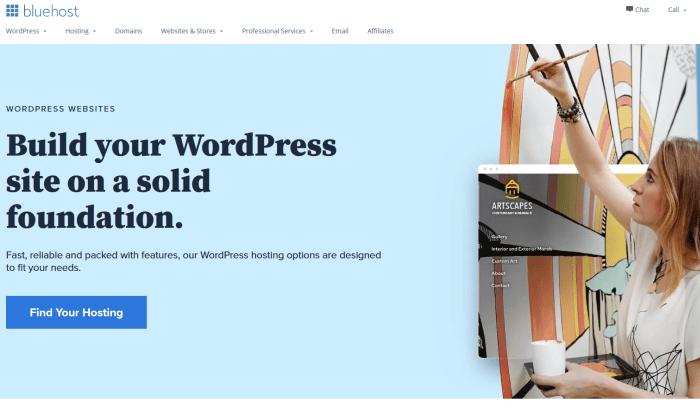 Bluehost WP for Best WordPress Web Hosting