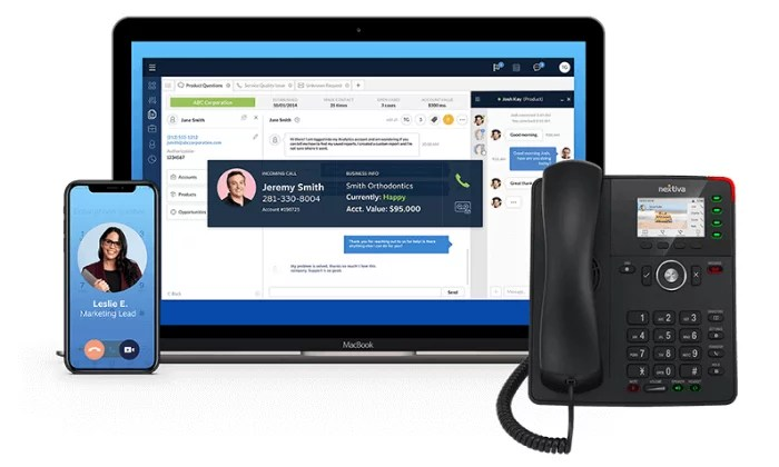 Nextiva tech stack for VoIP Phone Services