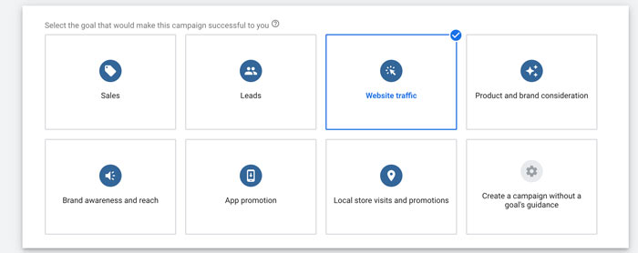 How to Create Tinder Ads on Google - Set Your Campaign Goal and Type