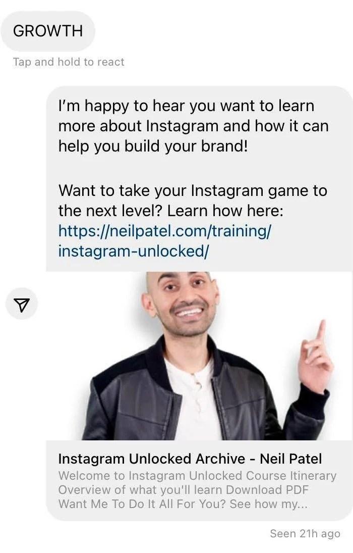 Instagram automation tools MobileMonkey keyword feature image