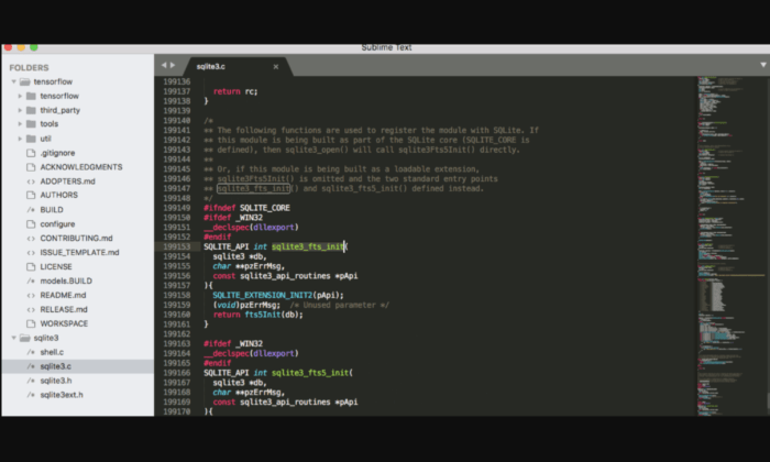 Sublime Text interface for Best HTML Editors