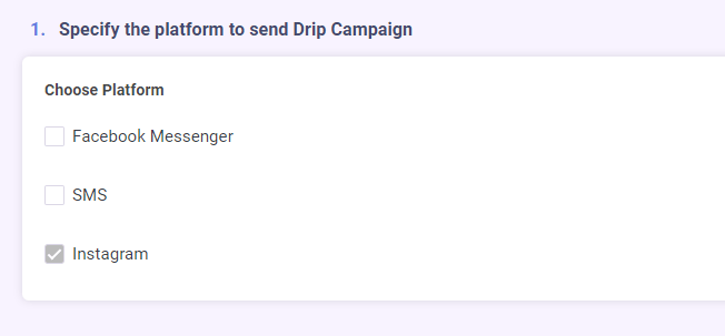 automate Instagram drip campaign