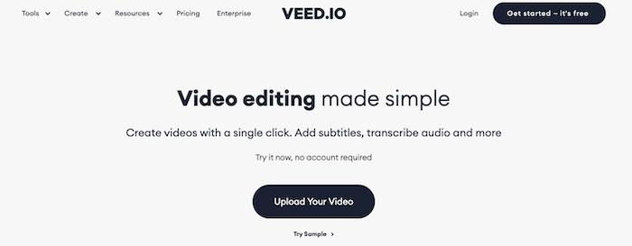 Tools to edit TikTok Videos - VEED
