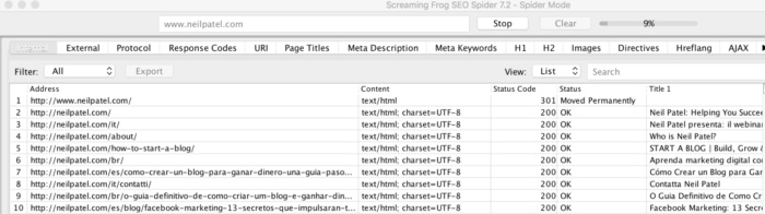 Screamingfrog site crawling results for How to Create an SEO-Boosting XML Sitemap