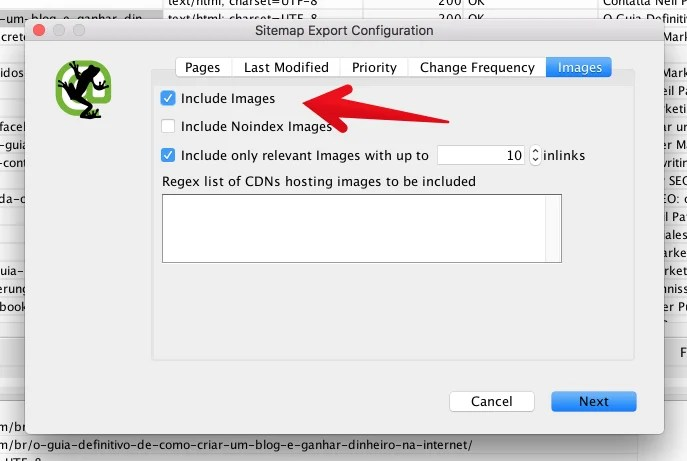 Screamingfrog include images in sitemap for How to Create an SEO-Boosting XML Sitemap