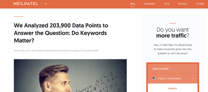 When looking for content marketers' qualities, the love of numbers must also feature as a top quality. It helps with the creation of data-driven posts.