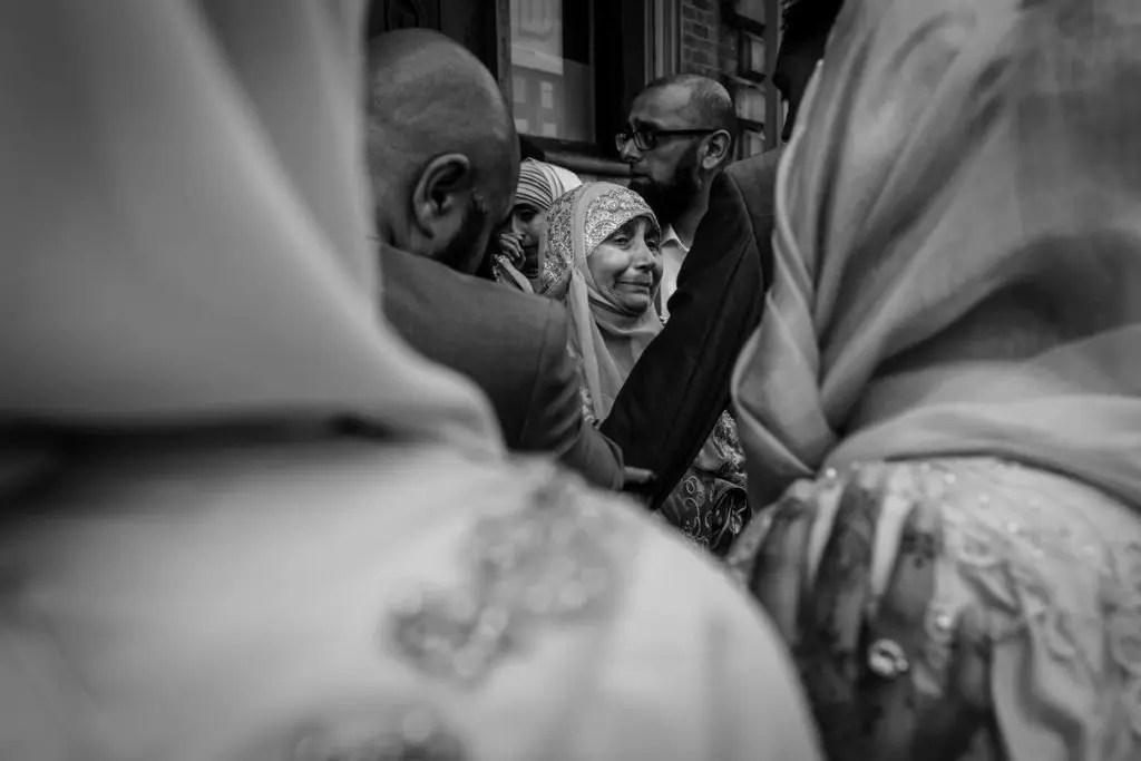 Muslim Wedding party.