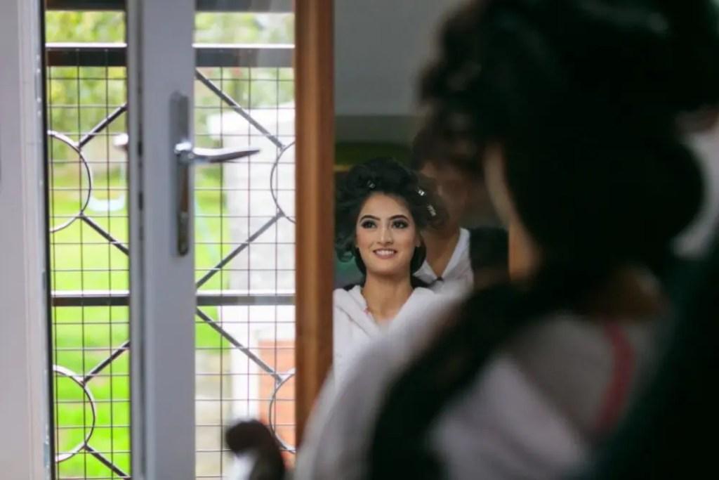 Muslim Bride during Bridal Prep.