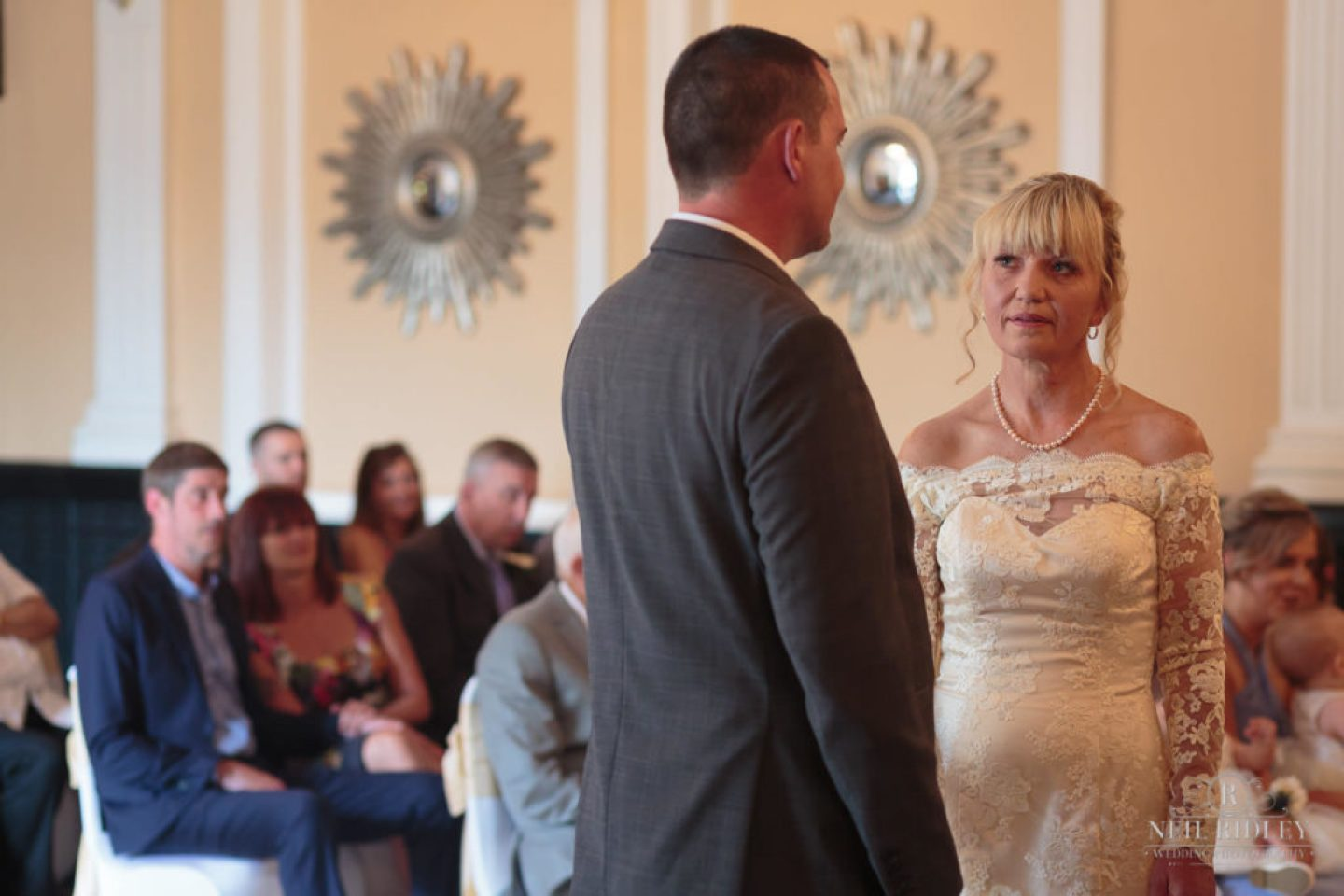 Bride and Groom exchange Wedding Vows at The Park House Hotel, Blackpool
