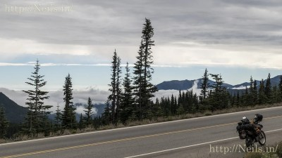 On the ascent to Hurricane Ridge