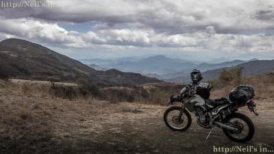 Overlooking Oaxaca