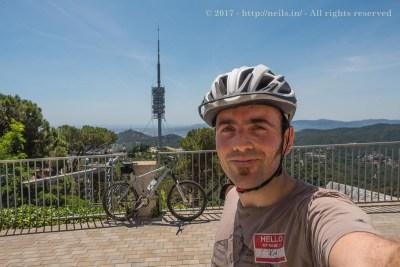 Torre Collserola Selfie