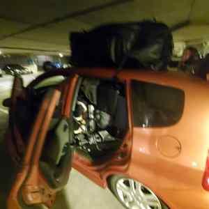 Tinas Packed Honda Fit
