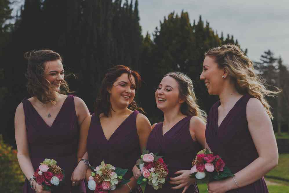 norfolk photographer bridal party wedding group photos