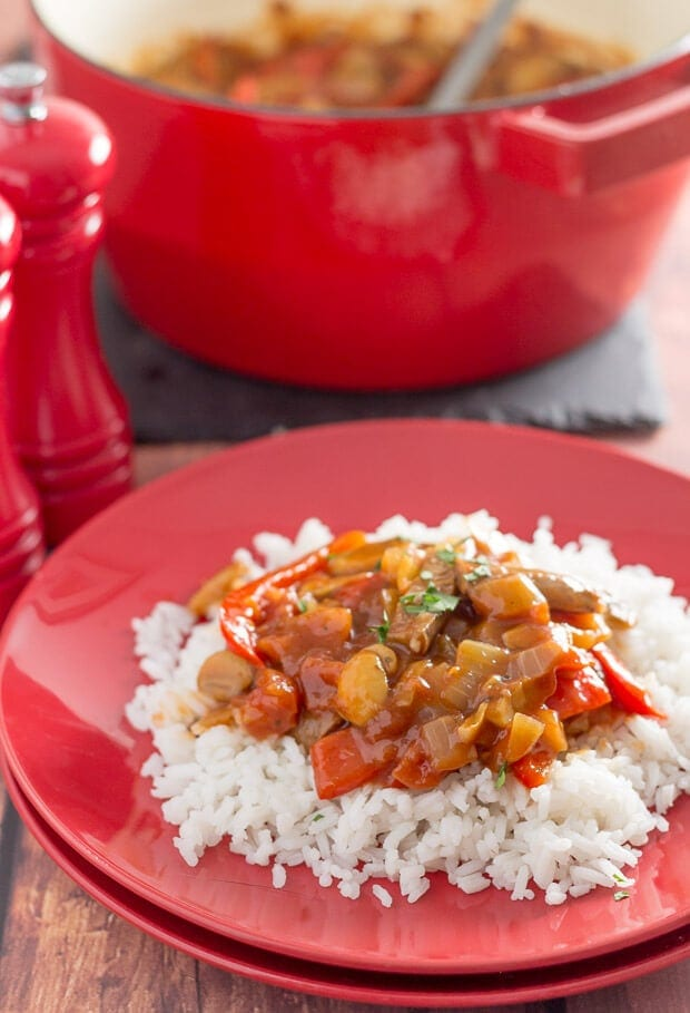 Low fat venison sausage casserole is an extremely tasty and easy one pot family meal. Made in just one hour, you'll want to add this recipe to your quick healthy meals dinner list!