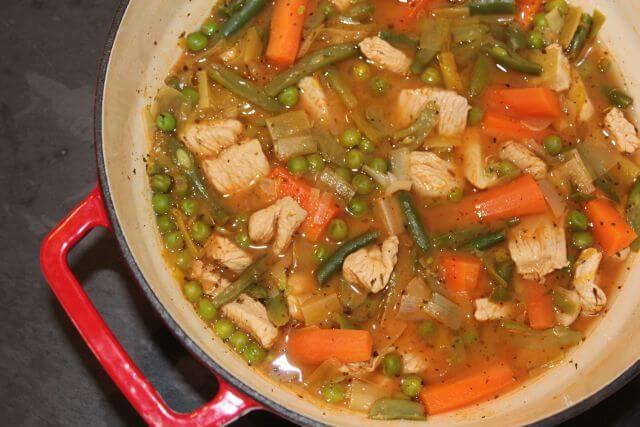 Low Fat Summer Turkey Stew