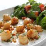 Scallops with Chilli and Lime