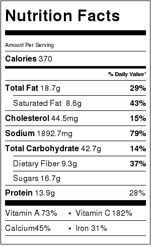 baked-sweet-potato-with-feta-and-orange-nutrition-label