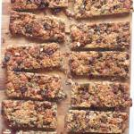 Fruit and Nut Snack Bars