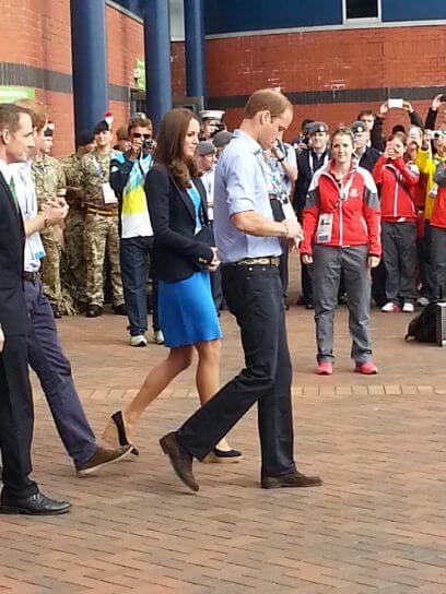 Prince Edward and Kate Middleton