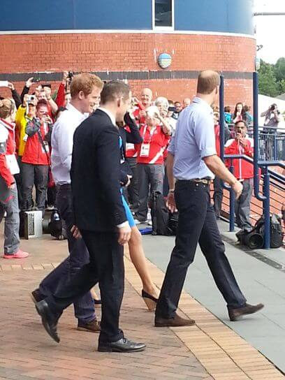 Prince Harry and Prince Edward