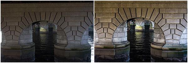 Caledonian Bridge Brick Supports