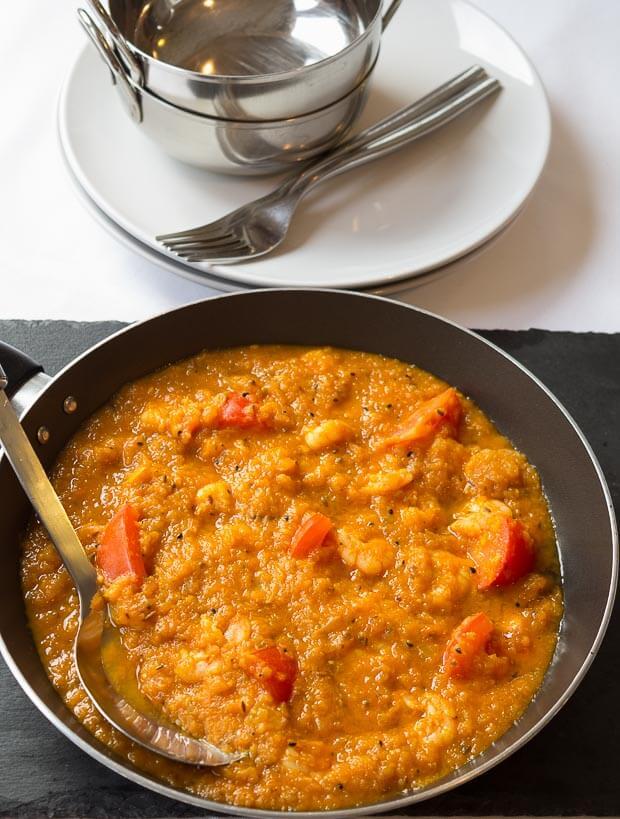 Healthy King Prawn Curry Recipe Bottom