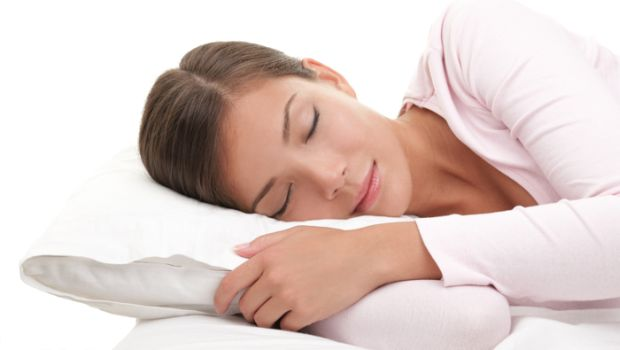 Woman getting enough sleep to maintain a healthy body.
