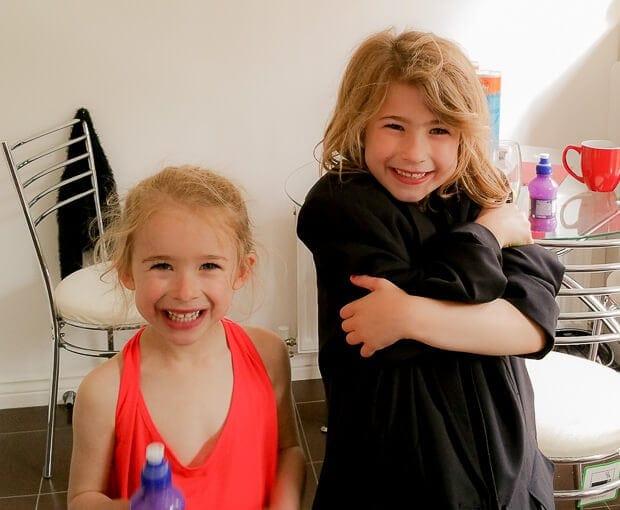 Cheeky Nieces