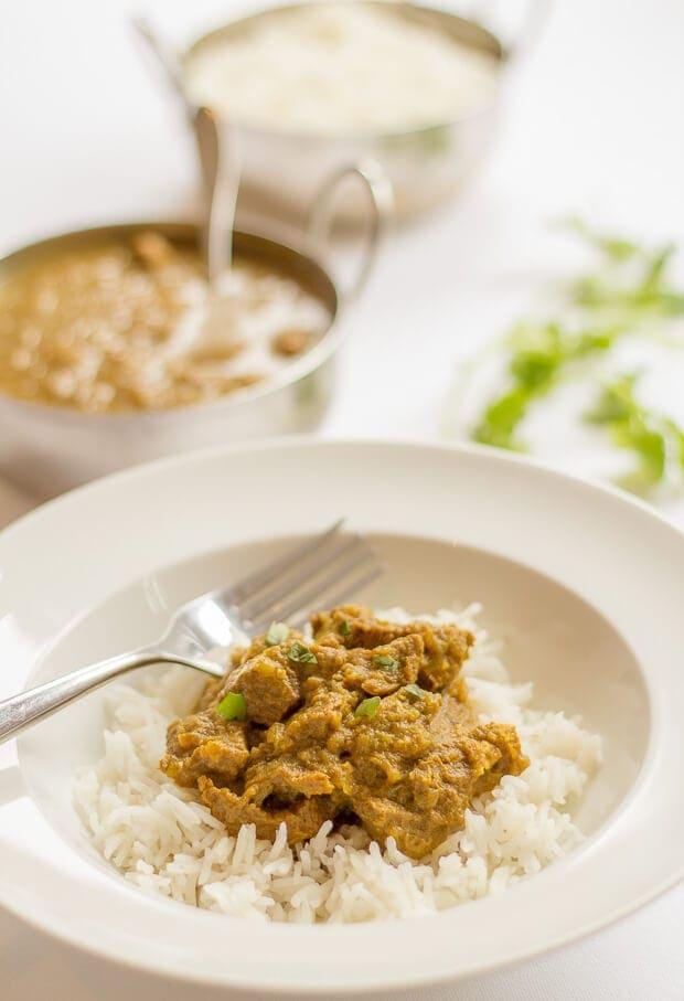 Mild Beef Curry