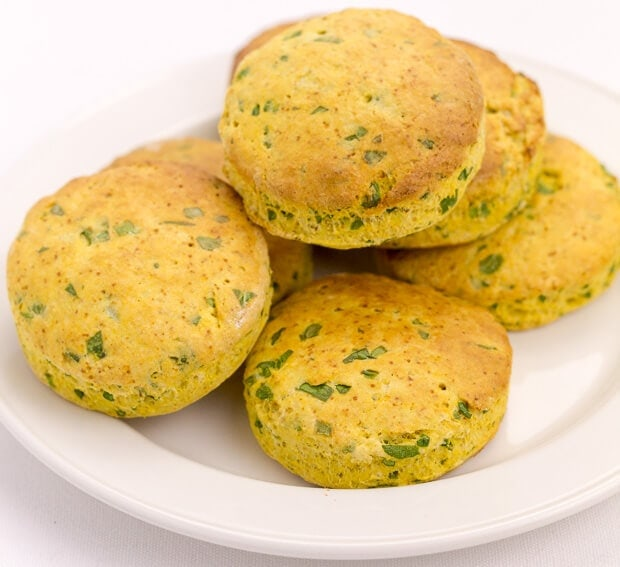 These sweet potato spinach scones are a great way of using up leftover ingredients. And, this recipe makes for an excellent snack or a weekend breakfast option. Absolutely delicious served warm with a little butter and jam!