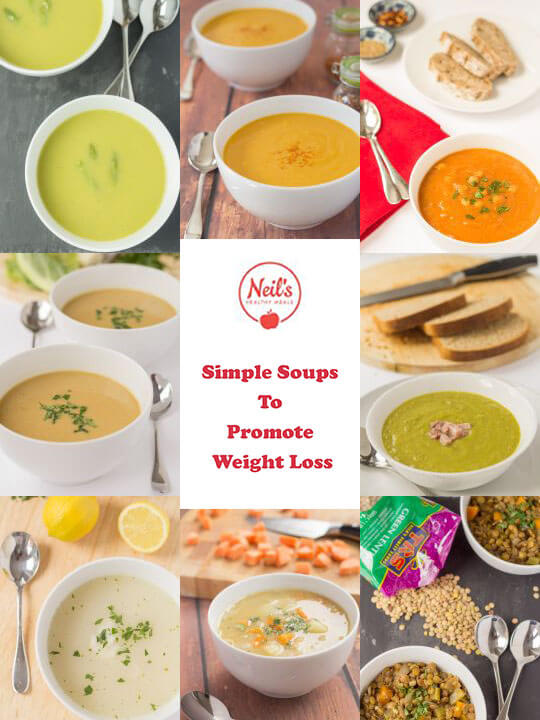 Simple Soups to Promote Weight Loss Free eBook