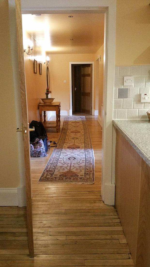 Corridor in flat Broadmeadows House